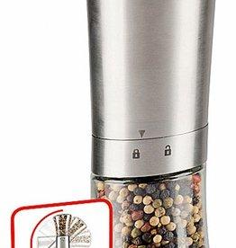 Alpina Roestvrijstalen automatische peper- en zoutmolen
