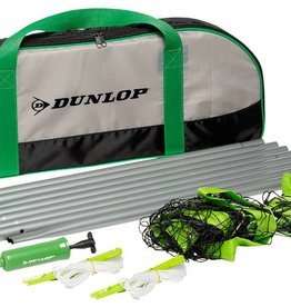 Dunlop Volleybalset met bal en pomp in tas