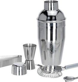 Excellent Houseware RVS Cocktailshakerset 5 dlg