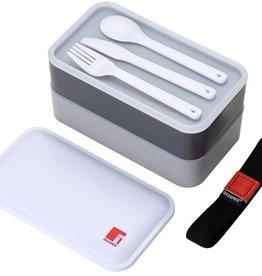 Bergner Lunchbox met bestek