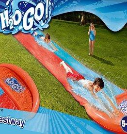 Bestway H2O Go Dubbele glijbaan 5.49 meter