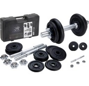 XQ Max XQ MAX Halterset - totaal 20 kg - 2 stuks