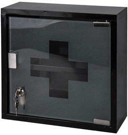 Bathroom Solutions Medicijnkastje RVS zwart