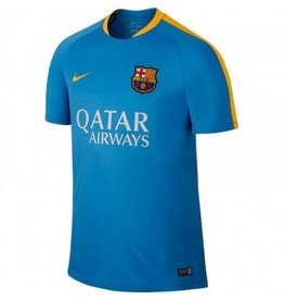 NIKE 2015-2016 Barcelona Nike Training Shirt (Blue)