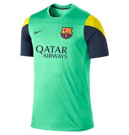 NIKE FC BARCELONA Trainingsshirt Home Herren 2013 / 2014