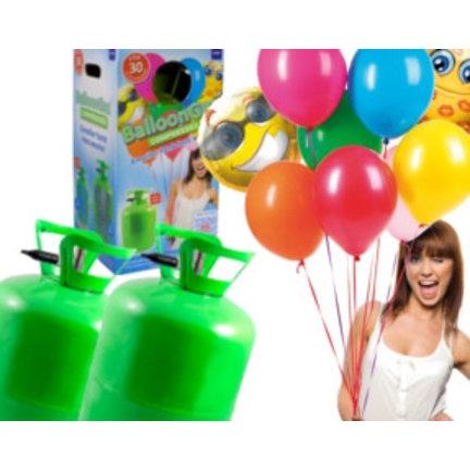 Helium tanks om zelf helium ballonnen te vullen