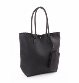 Genshii Shopper Anytime Zwart