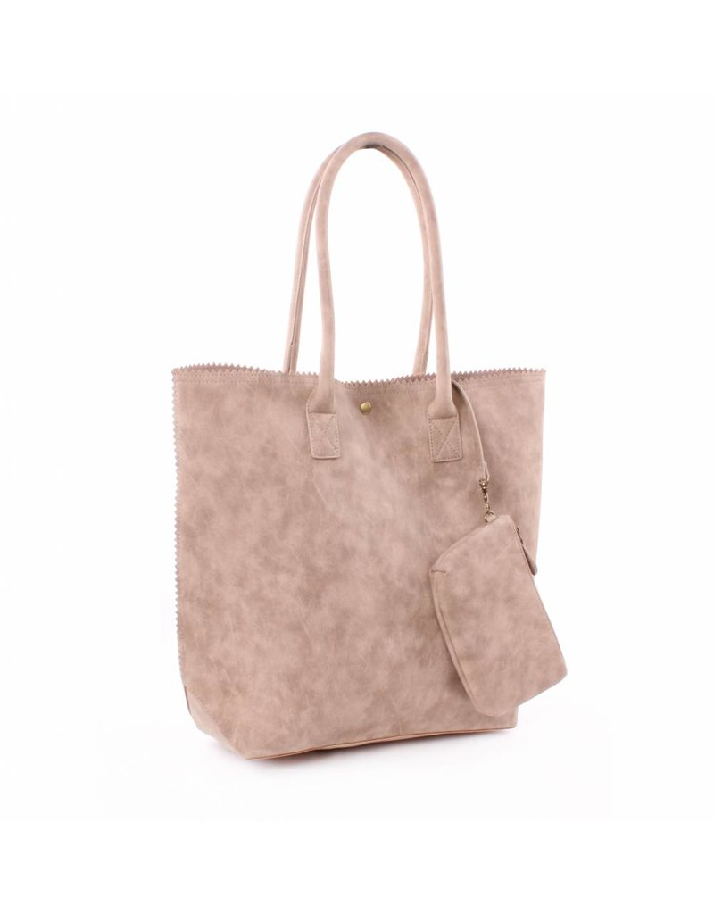 Genshii Shopper Anytime Taupe