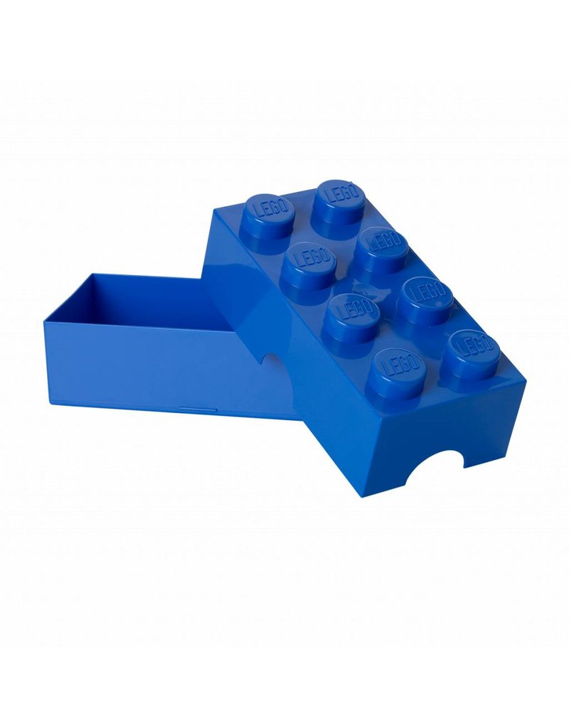 LEGO Lunchbox Brick blauw