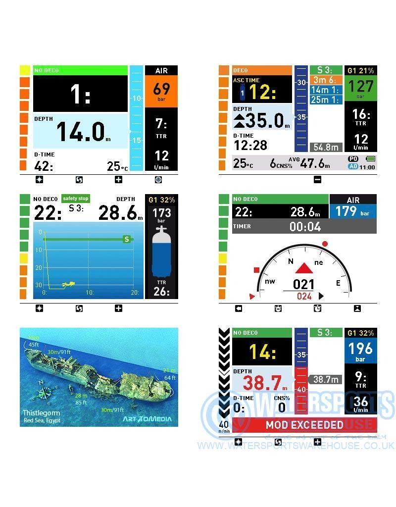 Mares Icon HD Black edition Tauchcomputer