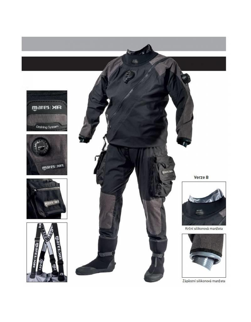 Mares XR1 kevlar Droogpak/dry suit met Latex seal