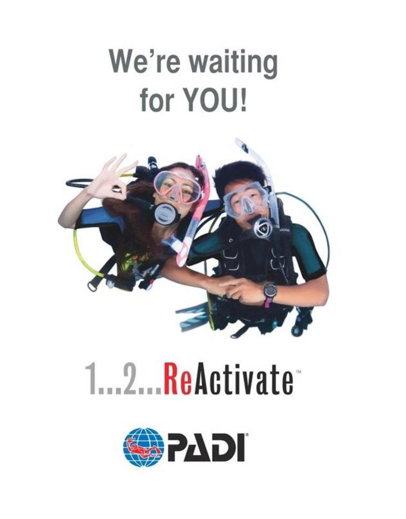 PADI ReActivate refresher program