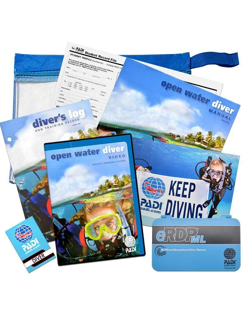 PADI Referral Open Water Diver   Holiday course