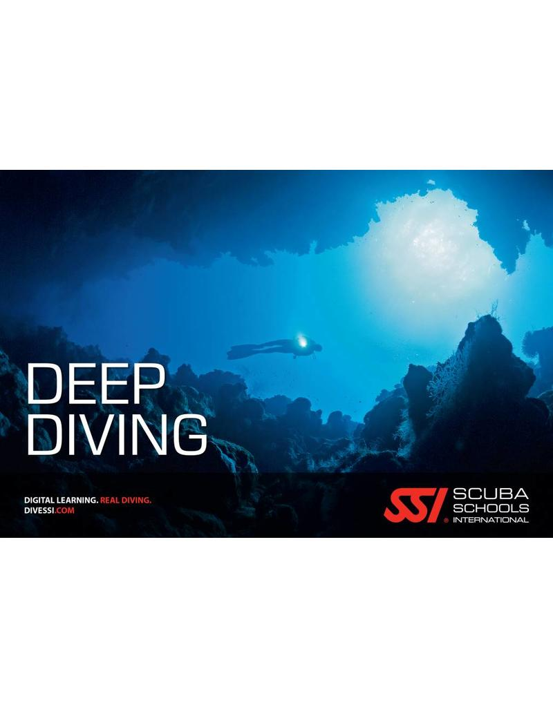 Deep diving SSI specialty | Diepe duik