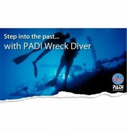 Wreck diver PADI specialty