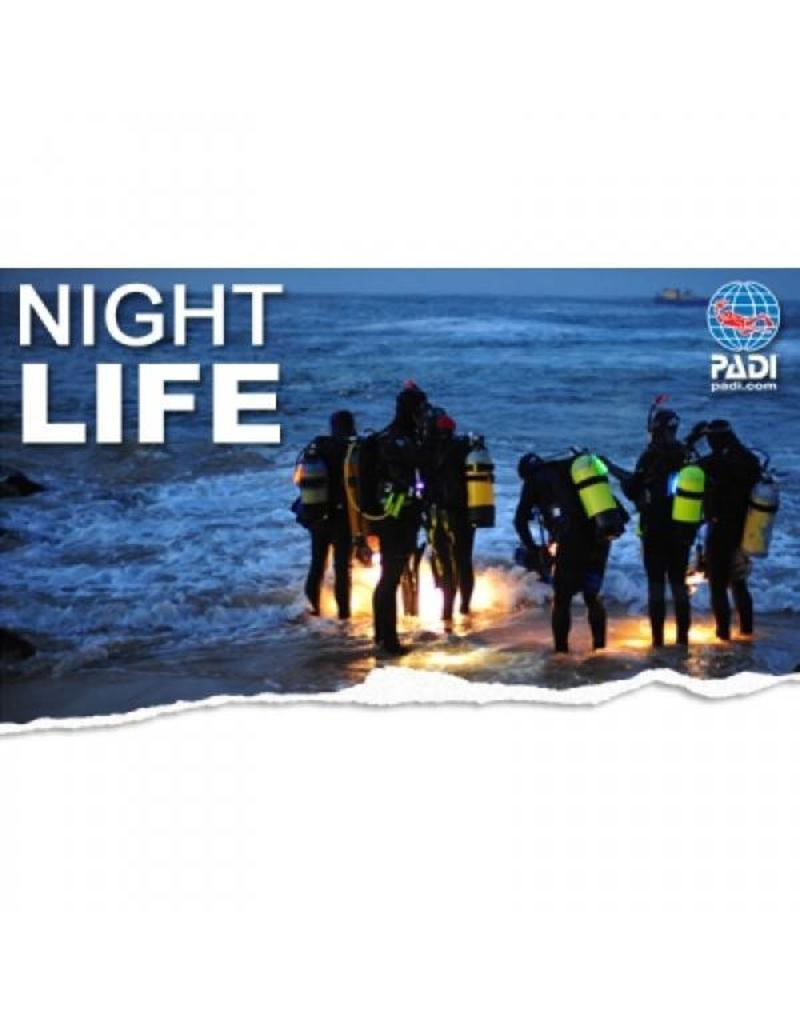 Night diver PADI specialty | Nachtduiker