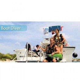 Boat diver PADI specialty