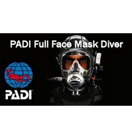 Full Face Mask diver PADI specialty (FFM)