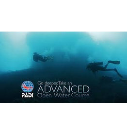 PADI Advanced Open Water diver (AOW)