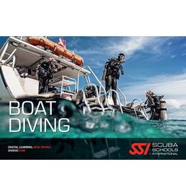 Boat diving SSI specialty instructor