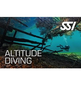 Altitude diver SSI specialty instructor