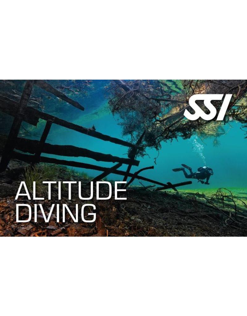Altitude diver SSI specialty instructor seminar