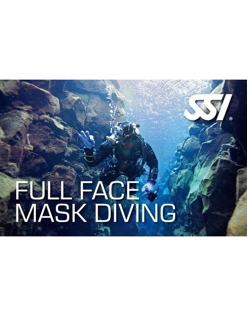 Full Face mask SSI specialty instructor seminar