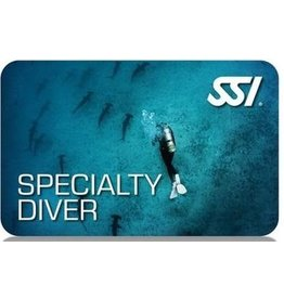 Cold water Diving SSI specialty instructor