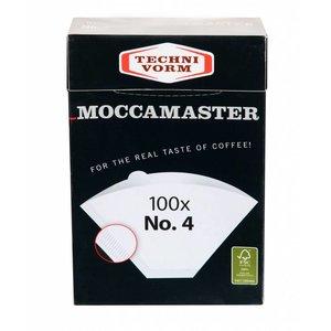 Moccamaster Filters nr.4 100 pcs