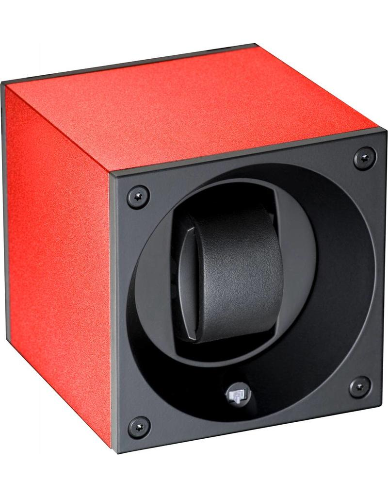 Kubik Watchwinder alu red