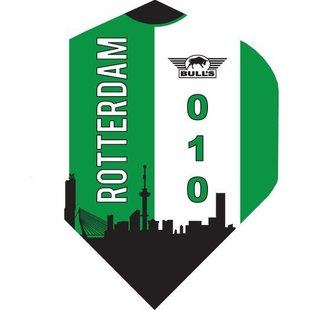 Football Flights - Rotterdam Skyline Green