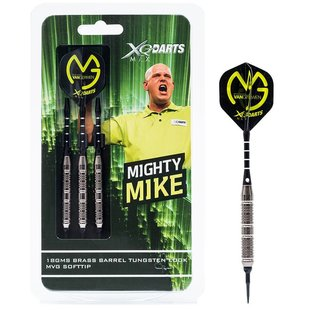 Michael van Gerwen Dartset Brass 18g Soft Tip