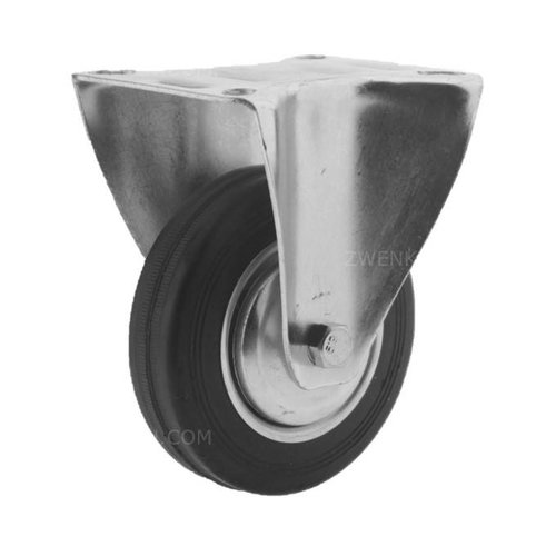 Bokwiel rubber 100 1SA plaat
