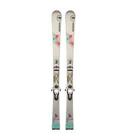 ROSSIGNOL Unique 2S (roze/turk) Ski's Gebruikt