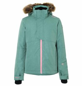 BRUNOTTI FAIRLEAD Ski-jas Girls Leafy Green