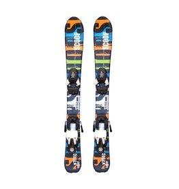 V3 TEC Scoop (bl/or/grn) Ski's Gebruikt 80cm
