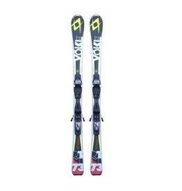VOLKL Volkl RTM 73 (zw/rd/gl) Ski's Gebruikt