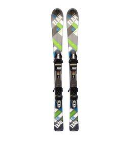 ELAN Exar Vidia (blokjes gr/bl) Ski's Gebruikt
