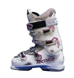 TECNICA Ten-2 Skischoenen Gebruikt wit/grijs/roze