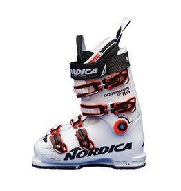 NORDICA Dobermann GP 115 Wit/Oranje Skischoenen Gebruikt 38 (mondo 24.5)
