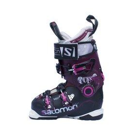 SALOMON Quest pro 100w Paars/Zw/Roze Skischoenen Gebruikt 34 (mondo 22)