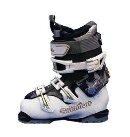 SALOMON Quest Access 770w Wit/Zwart Skischoenen Gebruikt 34 (mondo 22)
