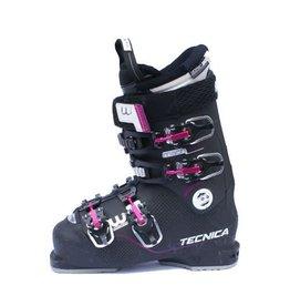 TECNICA Mach 1W RT 85 Zwart/Roze Skischoenen Gebruikt 38 (mondo 24.5)