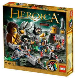 LEGO 3860 Heroica Castle Fortaan SPEL