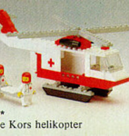 LEGO 6691 Red cross helicopter LEGOLAND