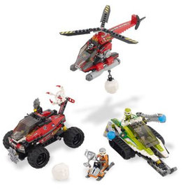 LEGO 8863 Blizzard's Peak WORLD RACERS