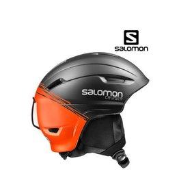 SALOMON Skihelm Cruiser 4D Zwart/Oranje