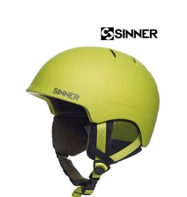 SINNER Skihelm Lost Trail Mat dark Citron
