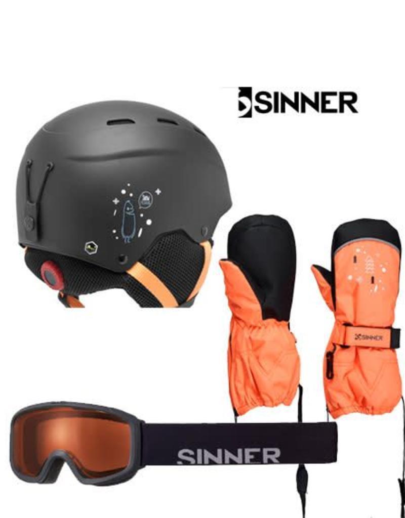 SINNER Skihelm Sinner Poley Mat Black