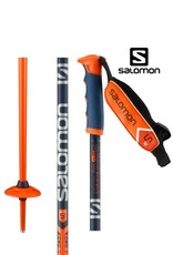 SALOMON SKISTOKKEN SALOMON Arctic S3 Orange/Navy 120cm